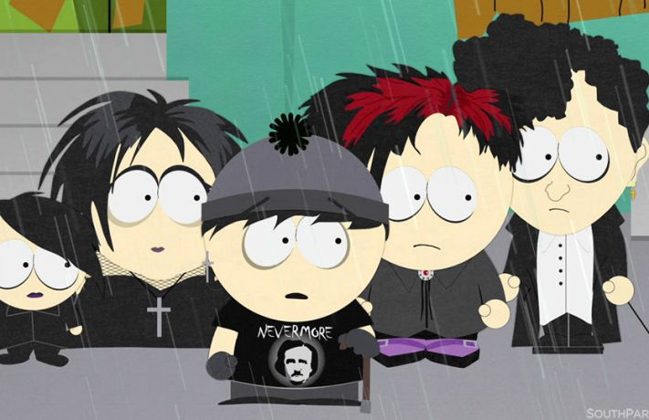 Goth Kids South Park