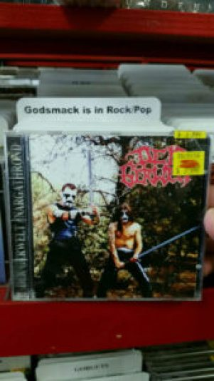 Well no shit, that's exactly where Godsmack belongs.