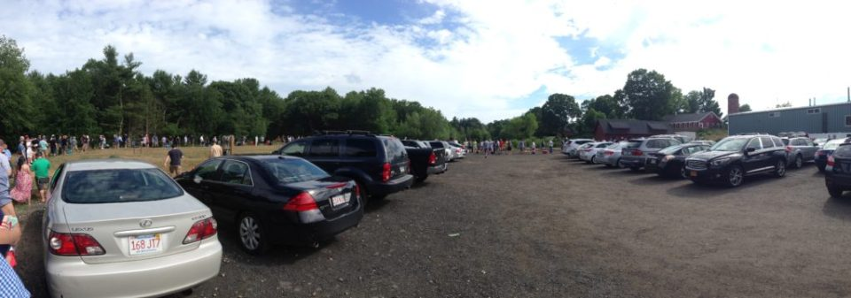 The gigantic line at Tree House