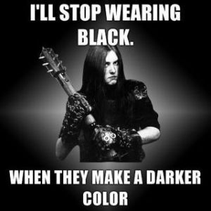 Varg Wearing Black
