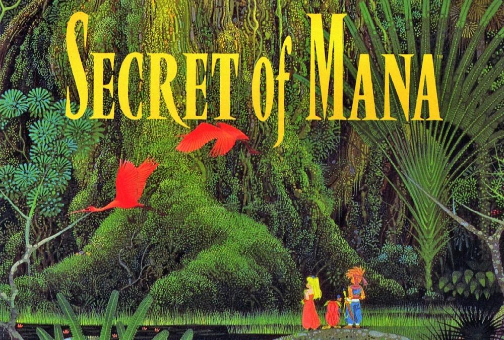 secret of mana title