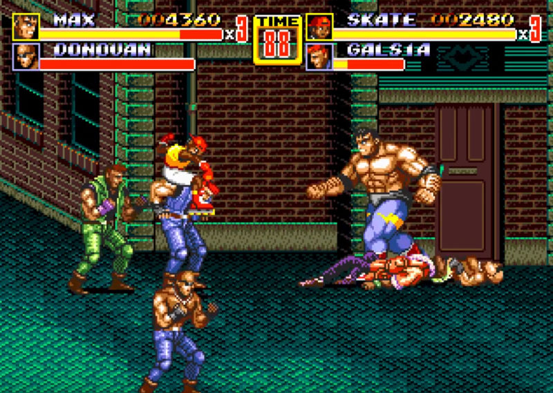 streets of rage gameplay