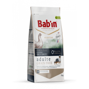 BAB'IN SELECTIVE ADULTE GRAIN FREE - POULET