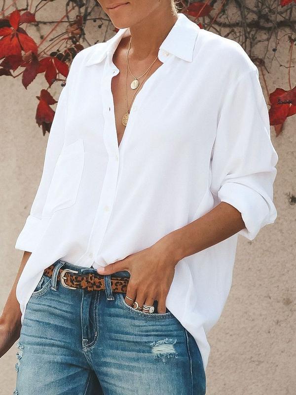 Συνδυασμοί με λευκό πουκάμισο