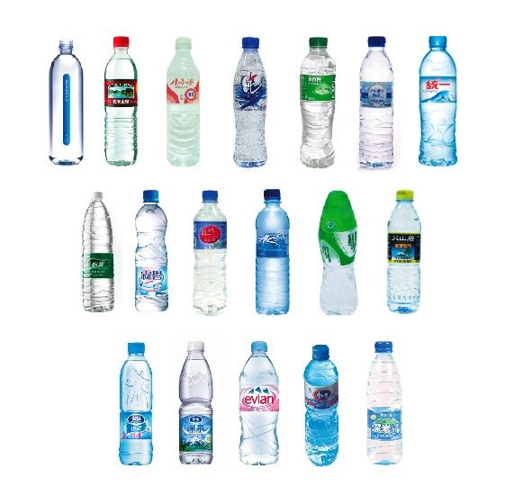 marques eau bouteille