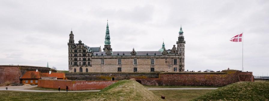 Renesančni grad Kronborg v bližini Kopenhagna
