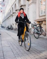 Vožnja s kolesom po Kopenhagnu