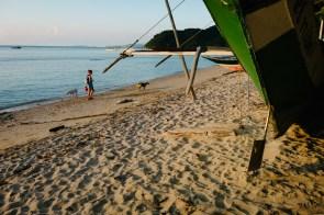 Mestna plaža - El Nido, Filipini