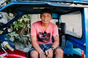 Voznik tricikla, El Nido, Filipini