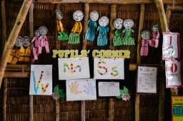 Šola, ki jo je v vasi pomagal zgraditi Tao
