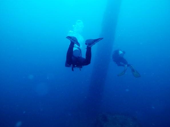 Potapljanje na razbitinah japonskih ladij, Coron, Filipini