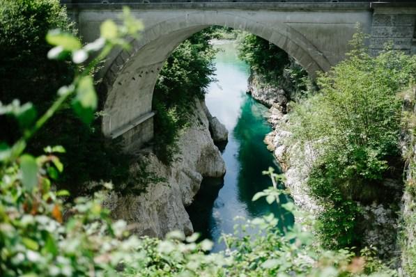 Napoleonov most, Kobarid