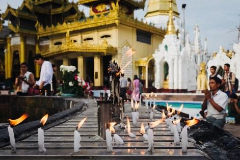 Pagoda Schwedagon, Jangon, Mjanmar