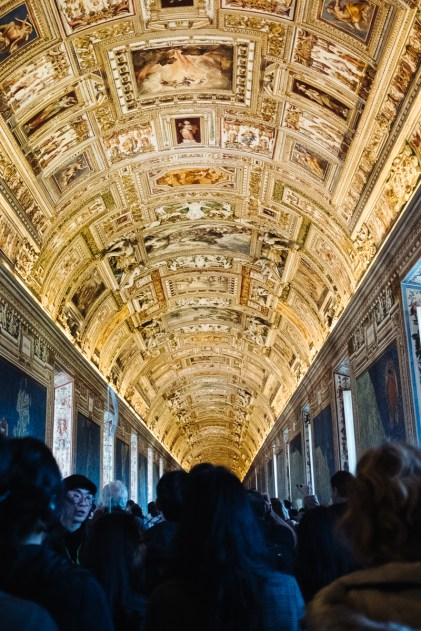 Vatikanski muzej, izlet v Rim