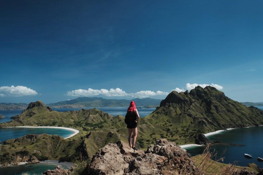 Razgled z otoka Padar, Flores, Indonezija
