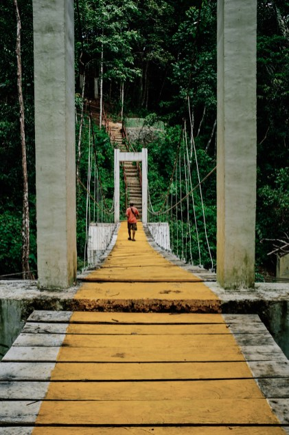 Slap Cunca Wulang, Flores, Indonezija