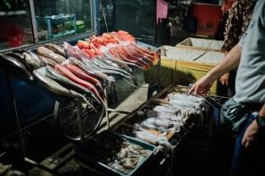 Night Market, Labuan Bajo, Flores, Indonezija