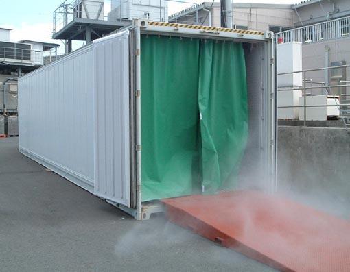 靜岡県焼津市 東海ボデ―製作所 まぐろ急速冷凍コンテナ