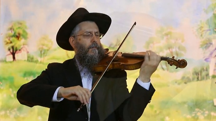 מרדכי ברוצקי - ניגונו של ר הלל מפאריטש