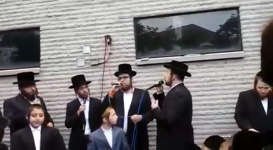 חופה עם ישראל ורדיגר ומקהלת שירה