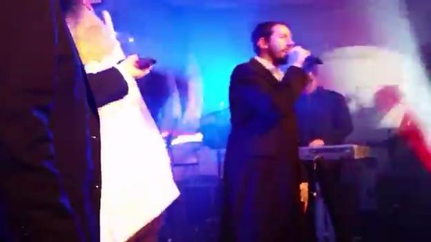 בני פרידמן ושלומי גרטנר במופע במנצ'סטר