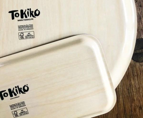 Plateau en bois - Tokiko, l'Art du Plan de Ville