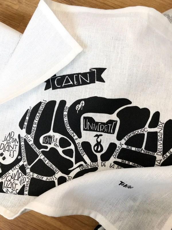 Torchon Caen - Tokiko, l'Art du plan de Ville