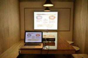 presentation room terminal