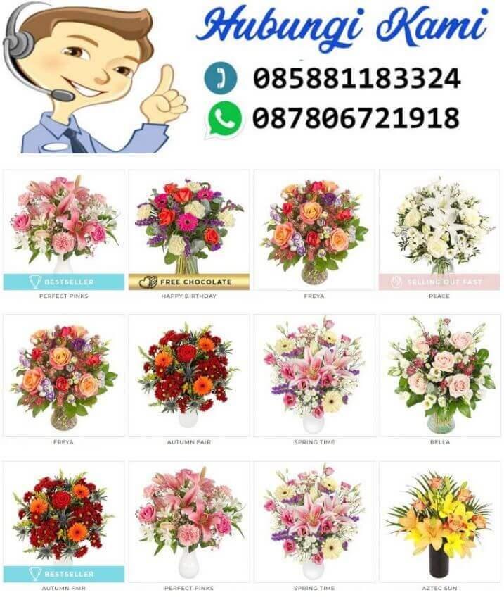 Toko Bunga Florist di Cilegon Online Murah