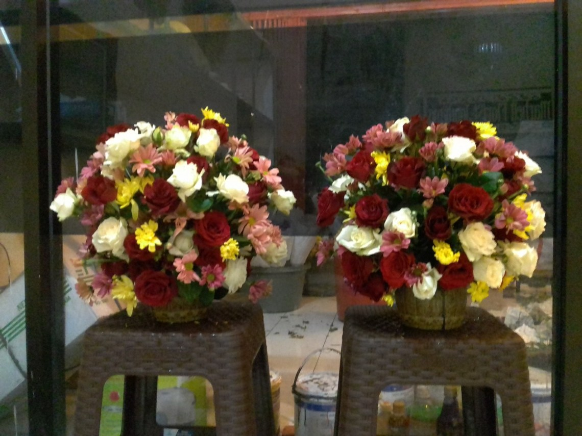 Penjual Table Flower  Kutacane
