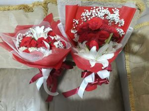 Hand Bouquet Terjangkau di Rupit