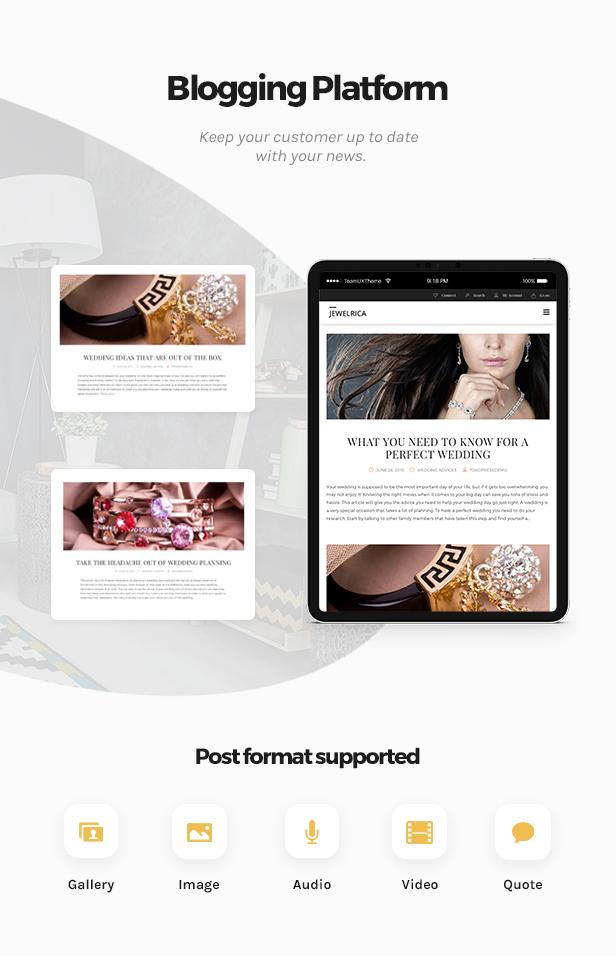 Jewelrica - eCommerce WordPress Theme - 2