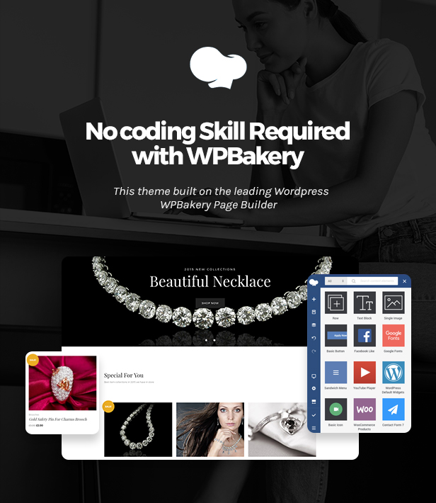 Jewelrica - eCommerce WordPress Theme - 3