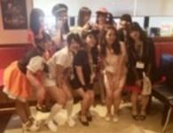 10月14日に行われたカクブツ×E+グループのハロウィン合コンパーティー@渋谷 隠し撮り