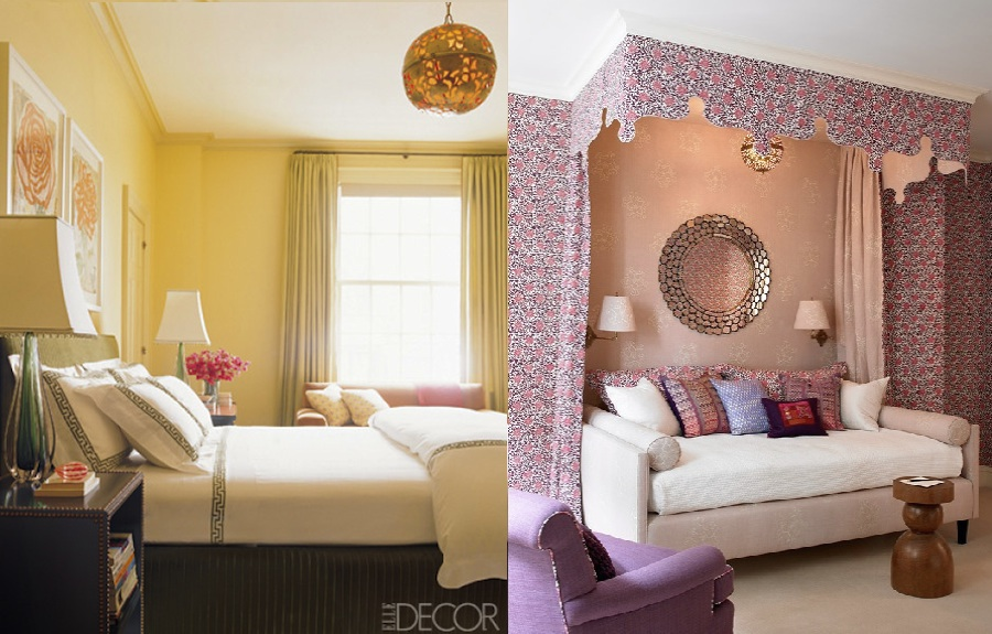 Katie Ridder japanese pendant lamp in guest room ED0306 and girls room