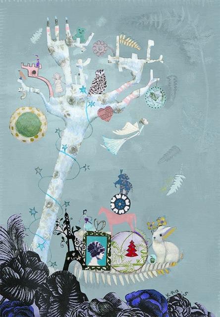 l'arbre Isabelle Caraes