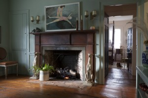 Michelle Smith Sag Harbor fireplace