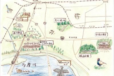 東京賢治シュタイナー学校周辺地図