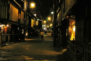 Police arrested a Yamaguchi-gumi member for extorting a 'delivery health' parlor in Gion ((Photo of Dotonbori via titanium22 on Flickr)
