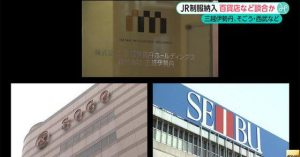 Several department store giants are being investigated for bid-rigging over uniforms for JR West and JR East (Fuji News Network)