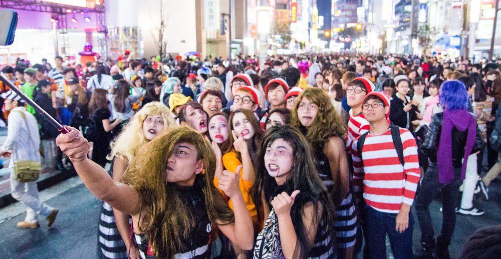 Halloween in Shibuya 2017