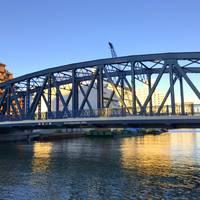西深川橋全景