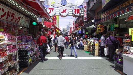 Walking around Ameyoko Market