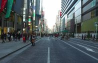 Walking around Ginza