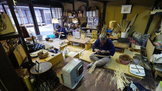 Take Kobo bamboo workshop
