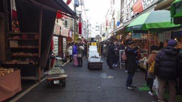 Walking around Tsukiji Outer Market