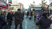 Walking around Togoshi Ginza