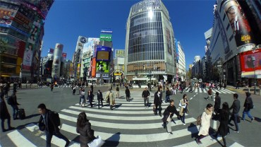 Shibuya Crossing : 360 degrees