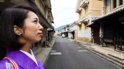Kimono stroll experience in Ehime