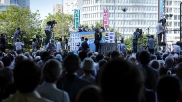 Japanese picturesque politics